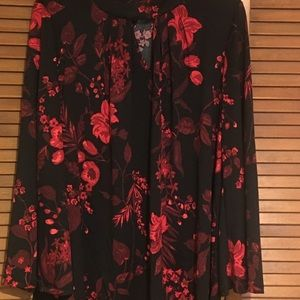 Ashley Stewart Floral Top